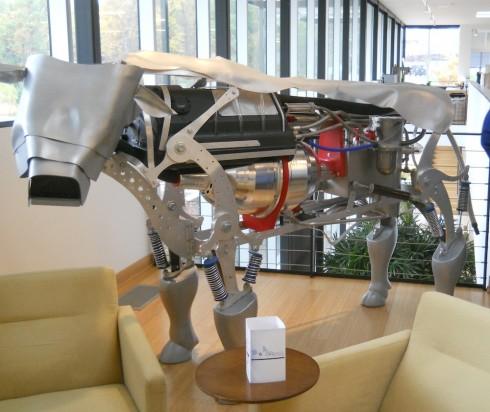 Novus' metaphorical metal cow.