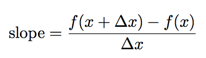 slope-f