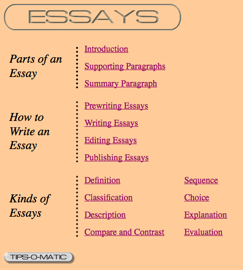 how to write a good paragraph for an essay